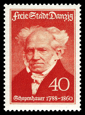 150th day of birth of Arthur Schopenhauer (178...
