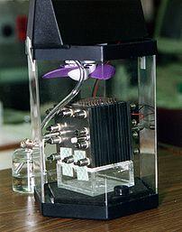Methanol fuel cell.