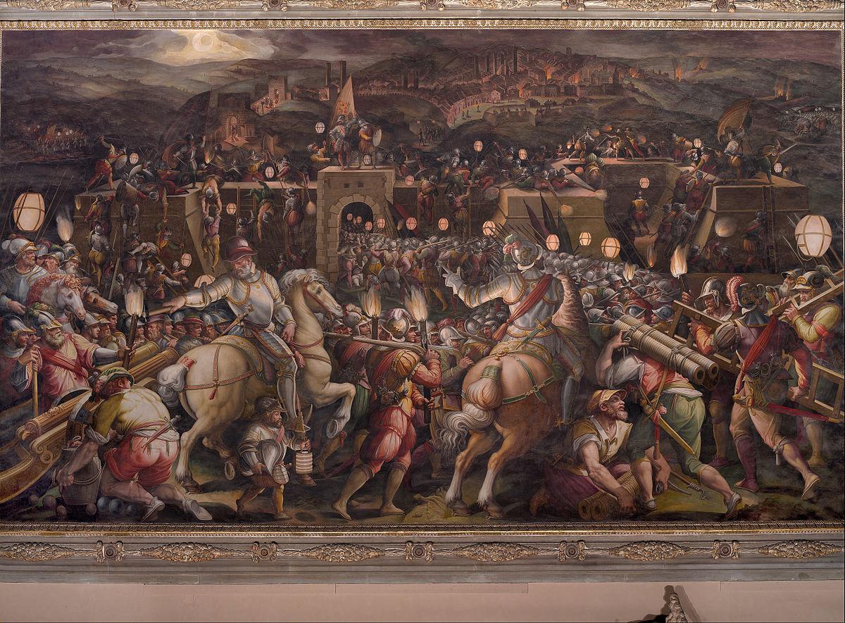 Guerra di Siena  Wikipedia