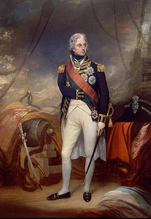 Portrait of Horatio Nelson, 1st Viscount Nelso...