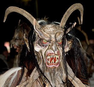 English: Krampus at Perchtenlauf Klagenfurt