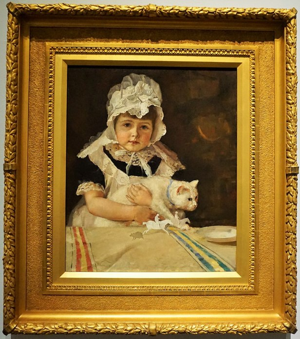 """National Gallery of Australia - Joy of Museums - """"Miss Minna Simpson"""" by Tom Roberts"""