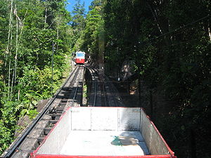 English: The Penang Hill Railway, which climbs...