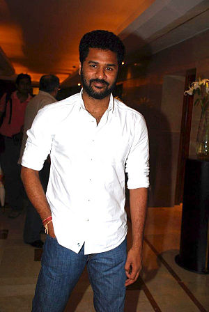 English: Prabhu Deva at Wanted press meet