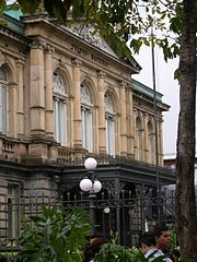 Vista del Teatro Nacional.