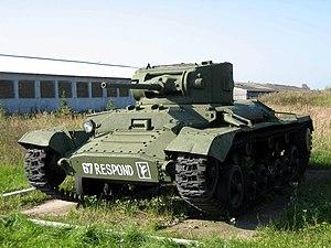 Infantry tank Valentine II in Kubinka tank mus...