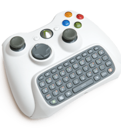 xbox 360 chatpad controller [ 970 x 854 Pixel ]