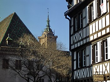 English: View of Colmar, Haut-Rhin, Alsace, France