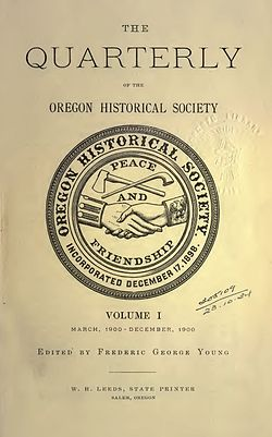 Bibliography of Oregon history  Wikipedia