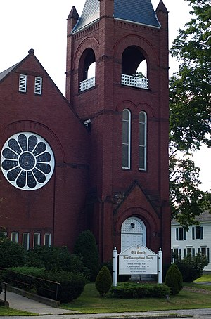 English: The First Congregational Church of Un...