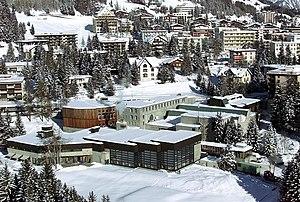 Davos, Switzerland, views of the Congress Cent...