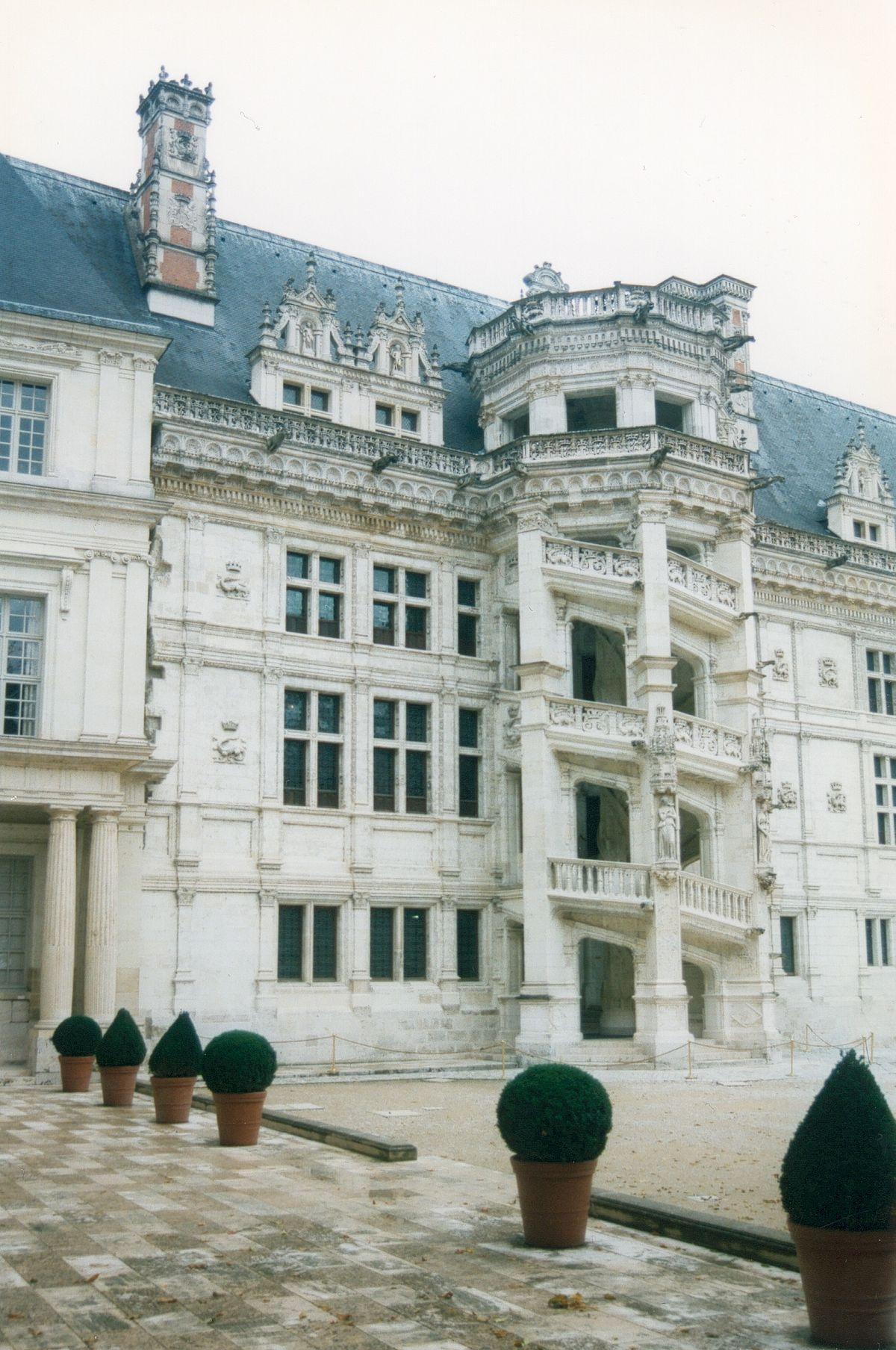 Chateau En Espagne 4 Lettres : chateau, espagne, lettres, Château, Blois, Wikipédia