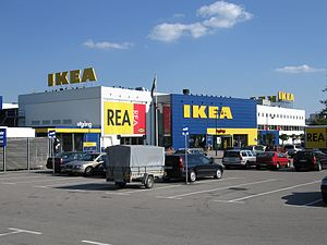 English: Ikea store in Älmhult, Sweden. Deutsc...