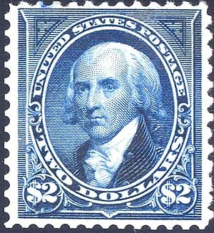 US Postage issue, 1894, $2