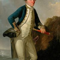 4 Portraits of Captain James Cook
