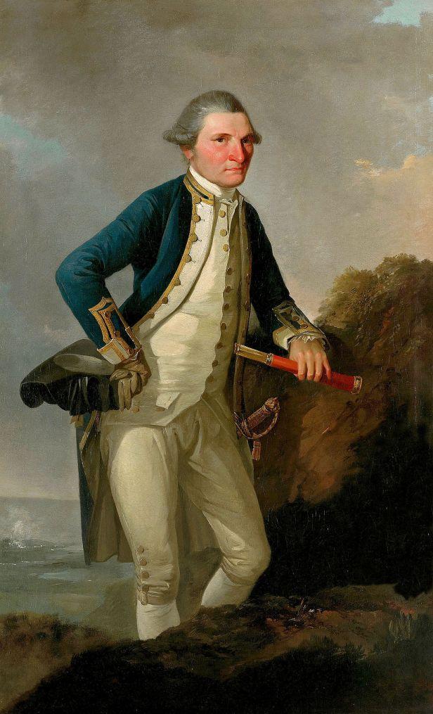 John Webber - Portrait of Captain James Cook