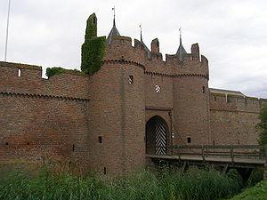 Drawbridge at Doornenburg Castle