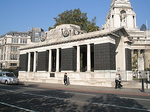 Memorial to the Merchant Seamen in Tower Hill