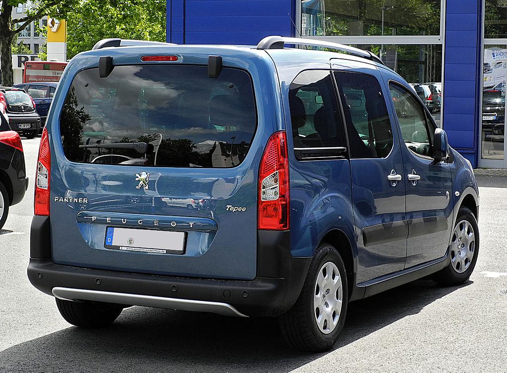 File Peugeot Partner Tepee Outdoor Ii Heckansicht 17