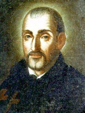 English: Saint Camillus de Lellis' portrait