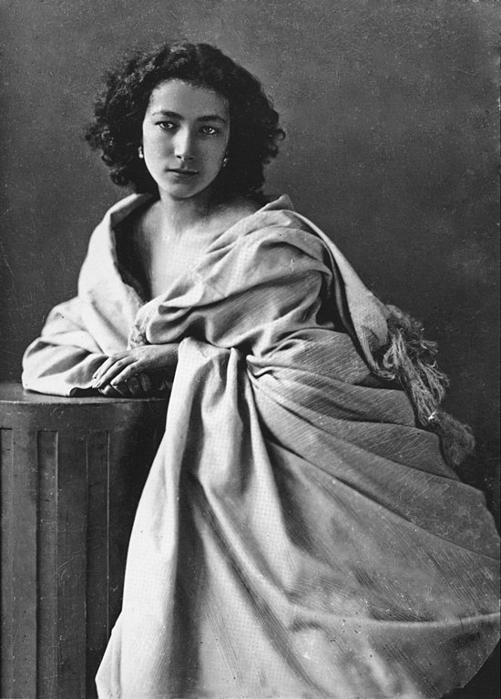 Félix Nadar's Photograph of French actress Sarah Bernhardt