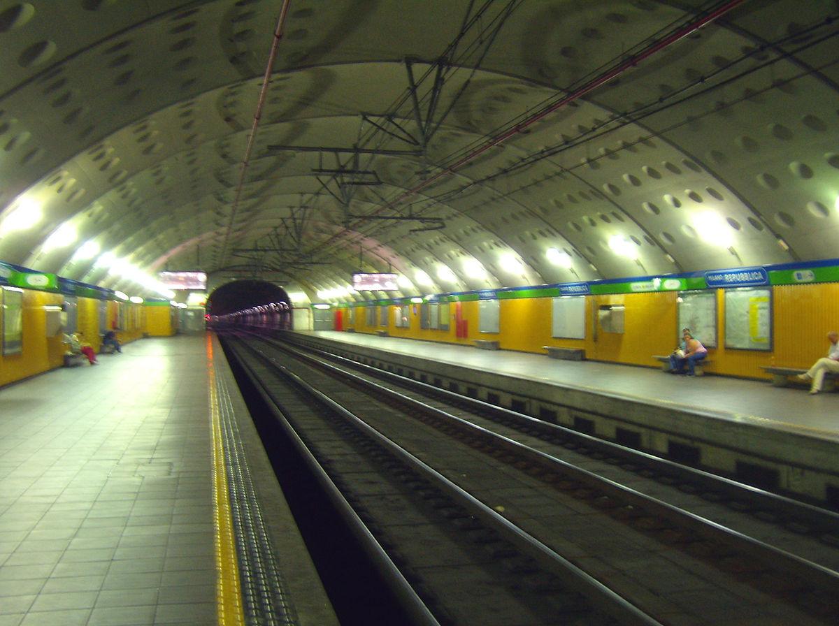 Stazione di Milano Repubblica  Wikipedia
