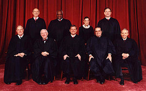 English: The current United States Supreme Cou...