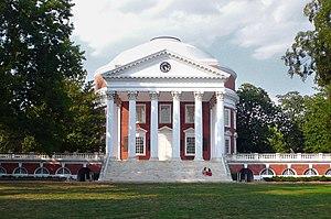 English: The Rotunda, the central historic str...