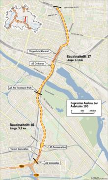 Bundesautobahn 100 Wikipedia
