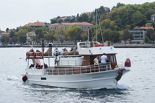 Boat on the Bosphorus