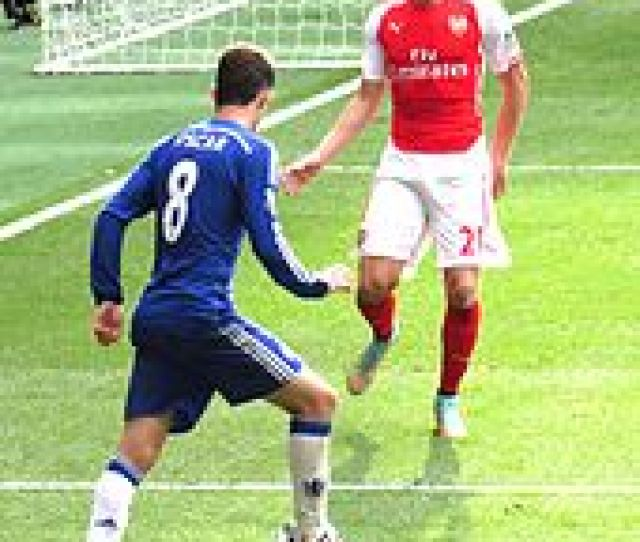 Chambers Right Playing For Arsenal In