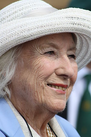 Dame Vera Lynn at the War and Peace Show 2009