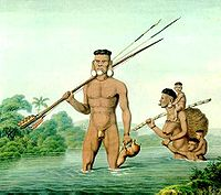 Índios Botocudos.