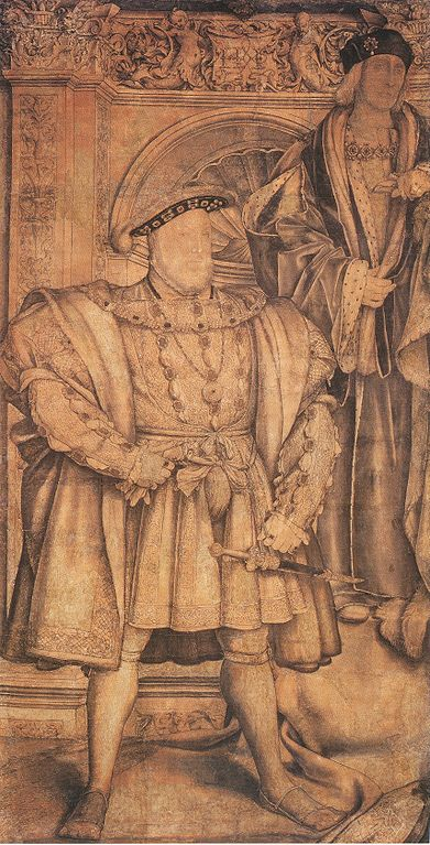 FileHenry VIII and Henry VII by Hans Holbein the Younger