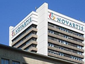 İsviçre Basel'deki Novartis binası