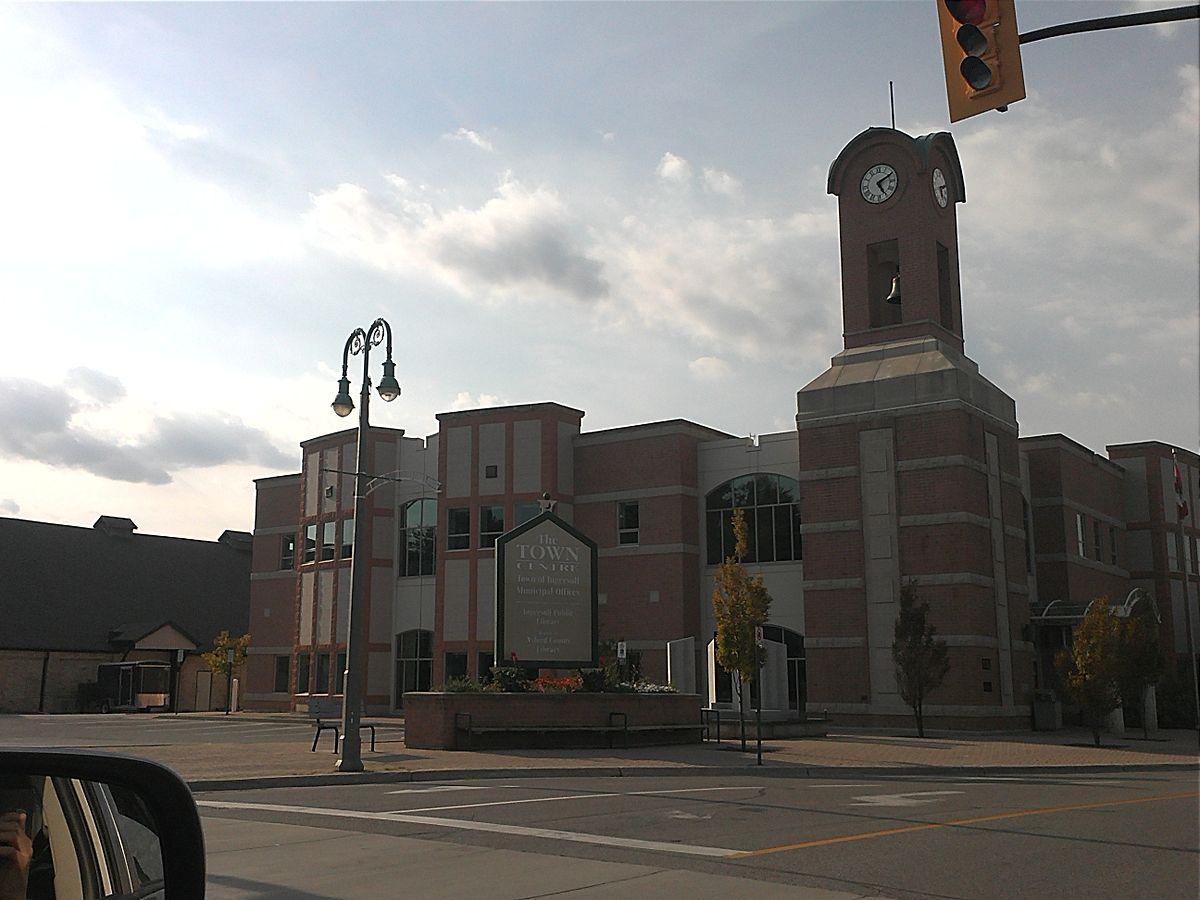 Ingersoll Ontario Town Hall  Wikipedia