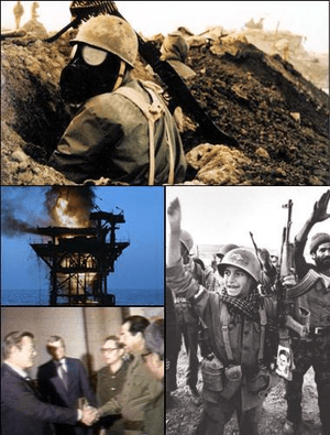 Montage of Iran-Iraq War
