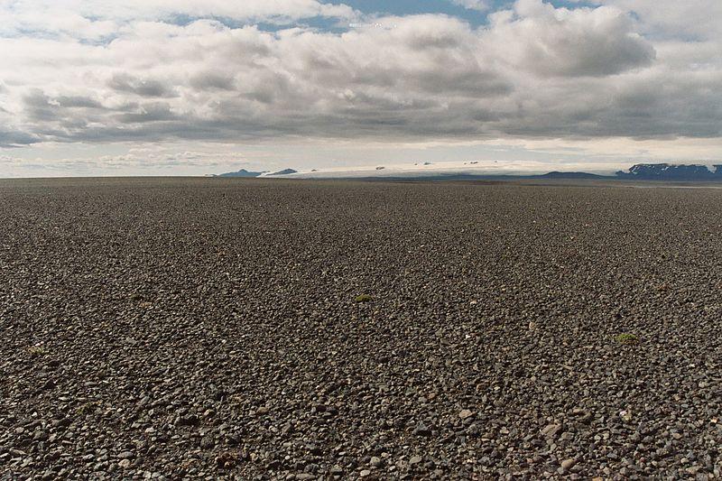 Islande Sprengisandur désert sol