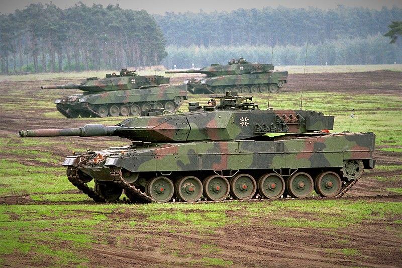 Berkas:Leopard 2 A5 der Bundeswehr.jpg