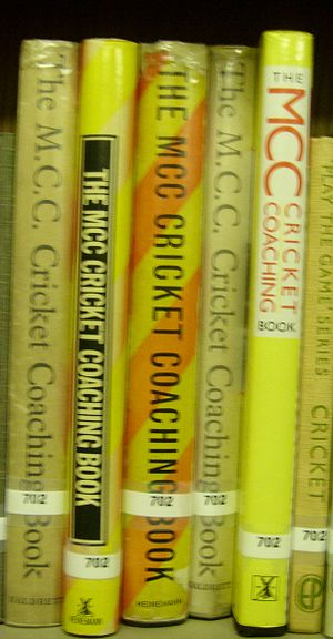 English: MCC Coaching books