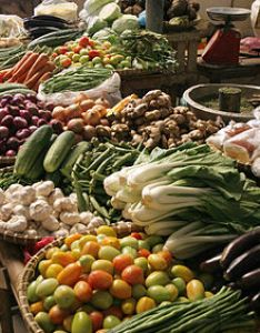 Vegetables in  market the philippines also vegetable wikipedia rh enpedia