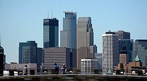 Minneapolis, Minnesota. Image has been cropped.