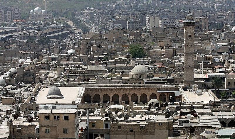 File:Mosquée des Omeyyades d'Alep.jpg