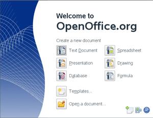 OpenOffice.org 3.0 application chooser