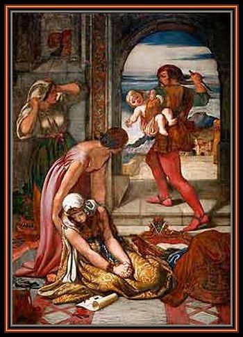 """The painting,""""Griselda's first Trial of P..."""