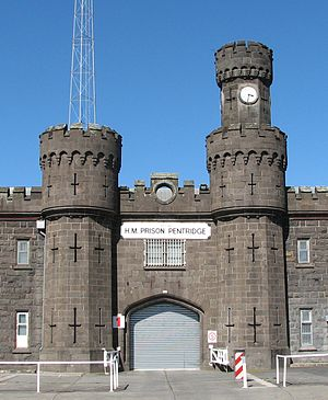 Main entrance of former H.M.Prison Pentridge i...