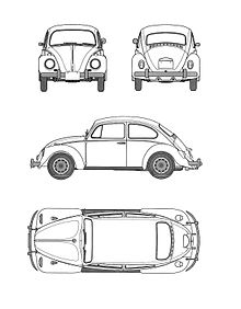 Vw Beetle Engine Drawings VW Vanagon Drawing Wiring