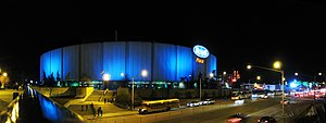 Rexall-Place Edmonton Oilers at Night