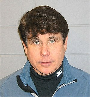 English: Mug shot of Rod Blagojevich.
