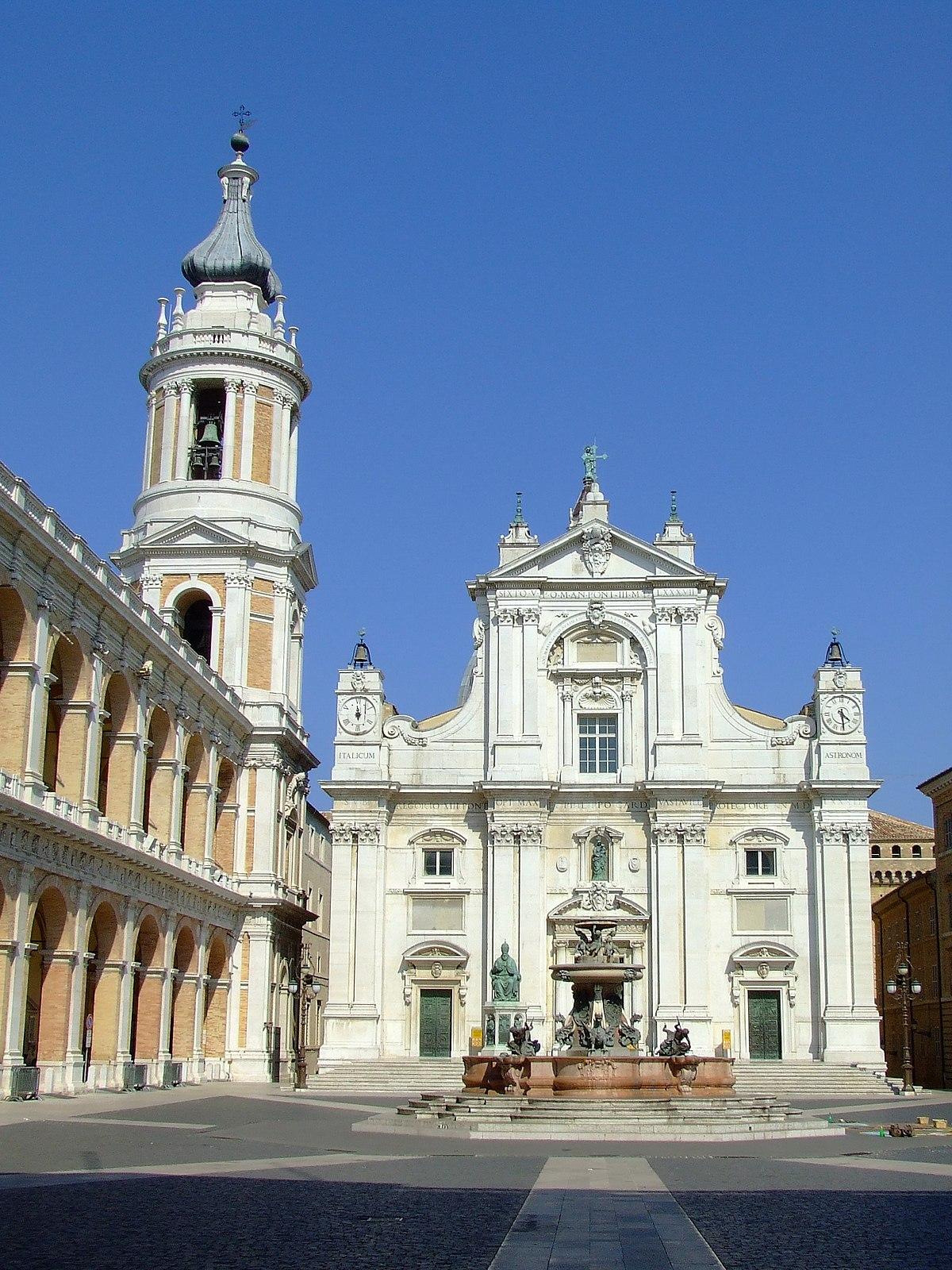 Basilica della Santa Casa  Wikipedia
